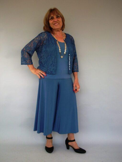 גופיה כחול ג'ינס
