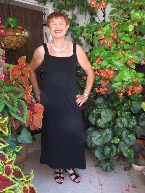 שמלה שחורה למבוגרות