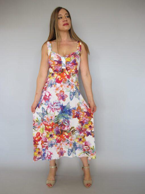 שמלה קייצית פרחונית