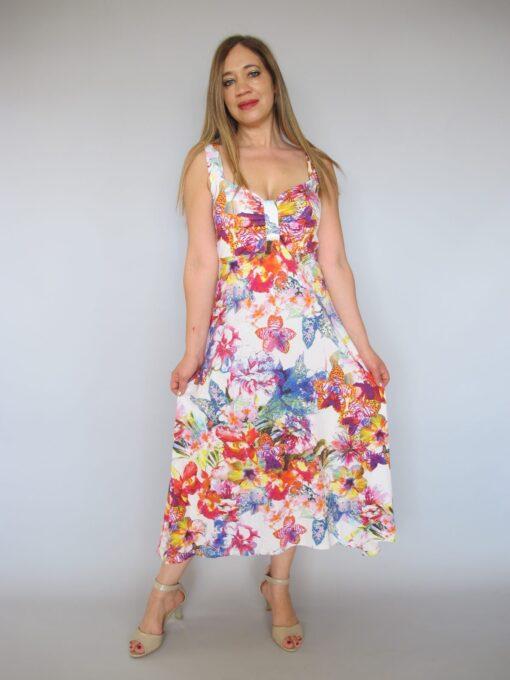 שמלה קייצית פרחים