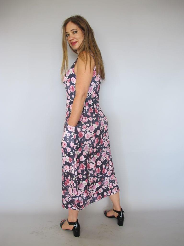 שמלה עלמא פרחים