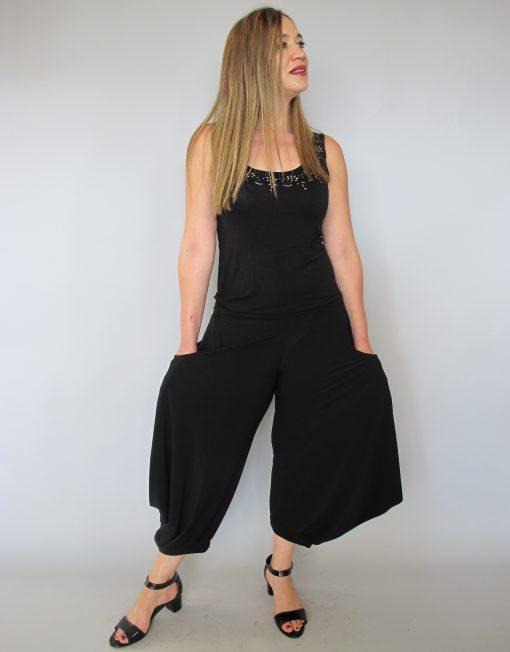 מכנס שרוול עלמא שחור