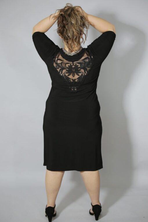 שמלת רבידה גב